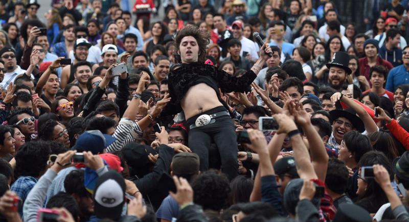 La explosión del rock argentino en México