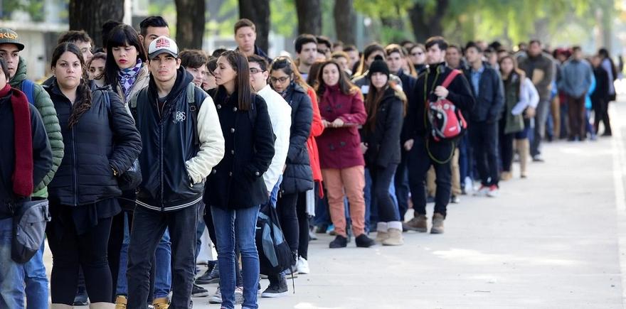 La agonía del mercado laboral
